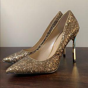 Enzo Angiolini Glitter Heels